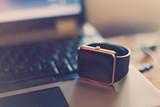 Smart wrist watch on...