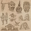 Native and old art pack - hand drawn vectors