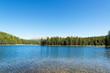 View of West Tensleep Lake in Wyoming