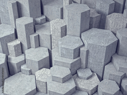 3d geometric wall