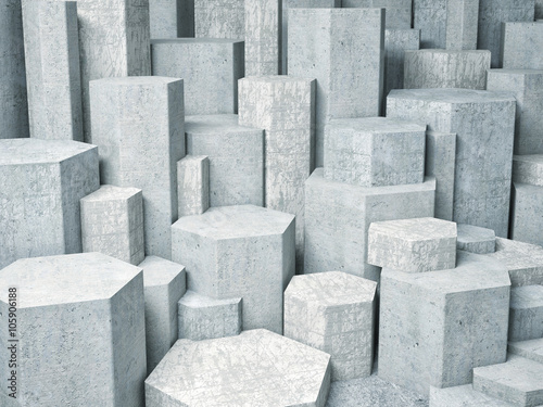 mata magnetyczna 3d geometric wall