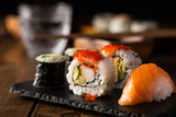 Maki and nigiri sushi © funkyfrogstock