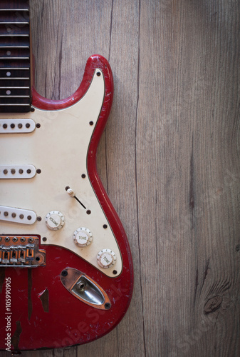 Poster Electric guitar