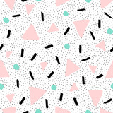 Hand Drawn Retro Seamless Pattern - 106003969