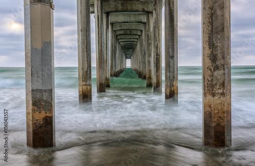 Scripps Pier- La Jolla, California Poster