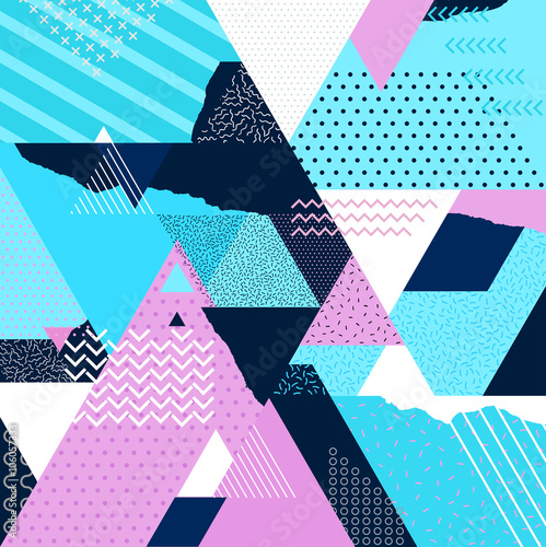 Fototapeta Art geometric background
