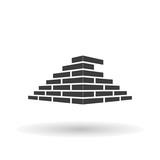 Fototapety Architecture and Buildin, brick Vector logo design concept. Bricks Icon, Bricks Picture, Bricks Drawing, Bricks Image, Bricks Graphic, Bricks JPG, Bricks EPS10, Bricks AI. - stock vector