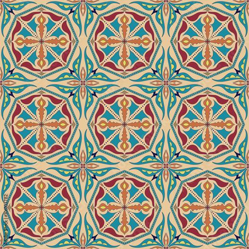 wektorowa-bezszwowa-tekstura-piekny-kolorowy-wzor-do-projektowania-i-mody-z-elementami-dekoracyjnymi