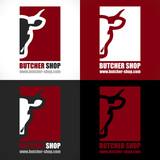 logo artisan boucher boucherie charcuterie - 106106996