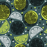 Citrus pattern graphics