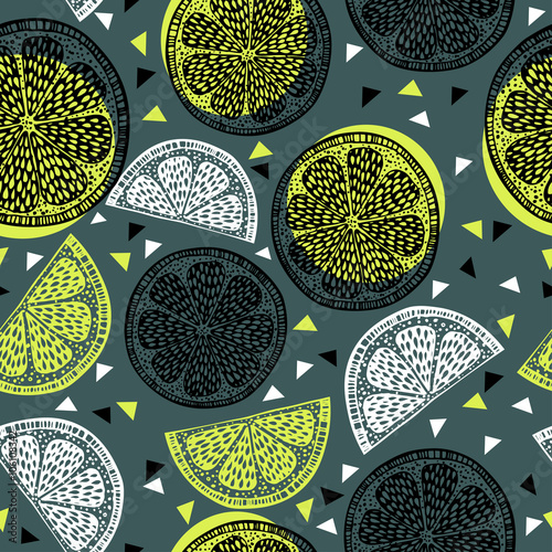 Citrus pattern graphics - 106108342