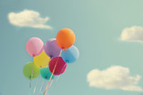 Bunch of colorful balloons - 106125768