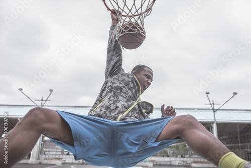 Poster Professional slum dunks