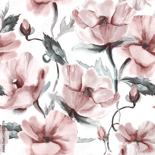 Floral Seamless Pattern - 106138774