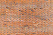 Red brick wall, seamless background texture