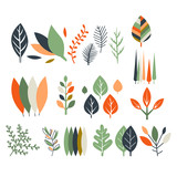 Fototapety Leaves Collection Modern Design