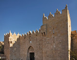Damascus Gate in Jerusalem. Israel