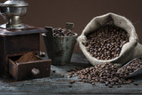 Fototapety Old-fashioned Coffee Grinder