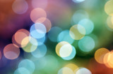 Fototapety Rainbow bokeh background