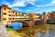 Quadro The Ponte Vecchio, Florence, Italy