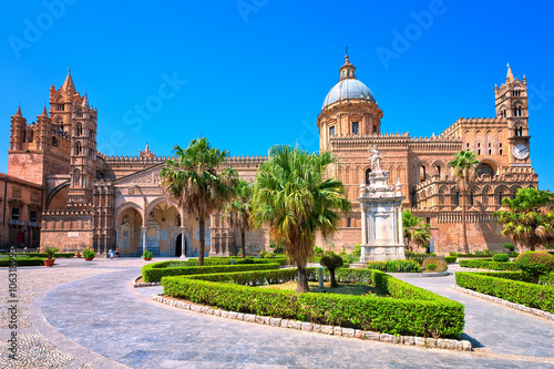 Papiers peints Palerme Cathedral of Palermo, Sicily, Italy