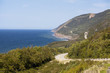 cabot trail on cape bretton
