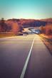 Hit the road at Lake McBride Iowa before sunset
