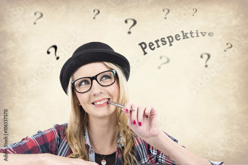 Poster Berufliche Perspektiven überdenken.