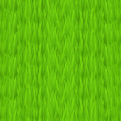 Seamless green grass texture. Tileable early spring green grass background.