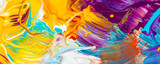 Fototapety Farbmischung mit Gouache-Farben