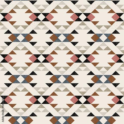Navajo ethnic pattern - vector illustration. - 106390596