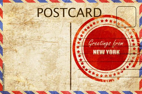 Vintage postcard greetings from new york buy photos ap images vintage postcard greetings from new york m4hsunfo