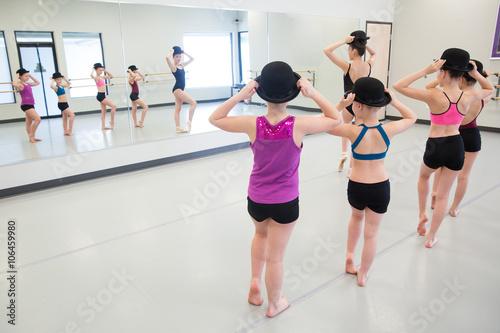 Jazz Dance Class Poster