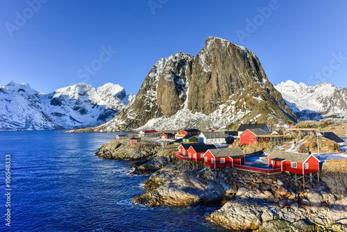 Aluminium Hamnoy - Lofoten Island, Norway