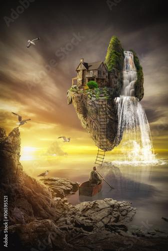 île fabuleuse Poster