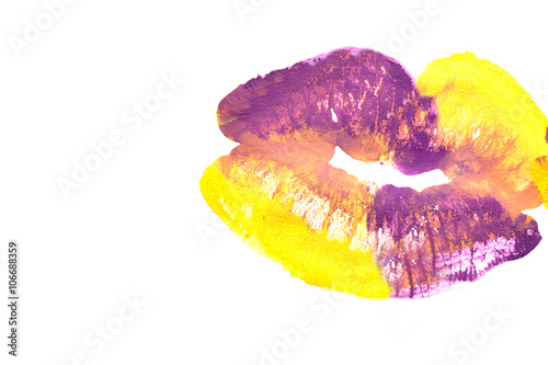 Beautiful colored lips © sergeytay