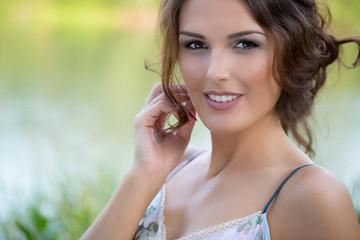 Beauty Portrait einer Frau