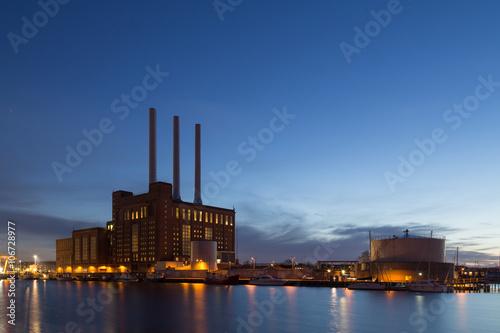 Póster Power Plant Svanemolle en Copenhague, Dinamarca