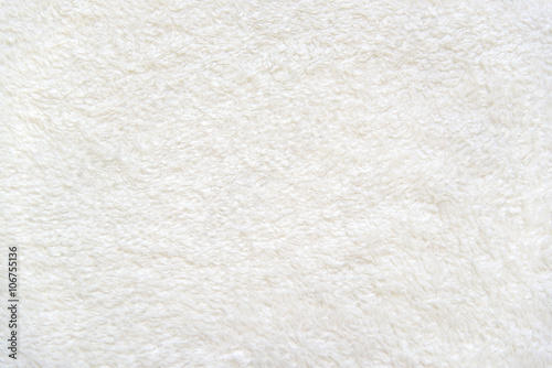 Beige background of plush fabric Poster
