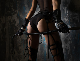 Very nice ass with a whip