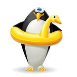 pinguino salvagente