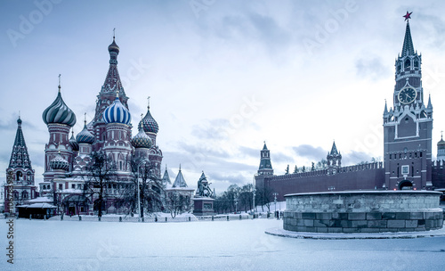 Saint Basil's Cathedral na Placu Czerwonym w Moskwie