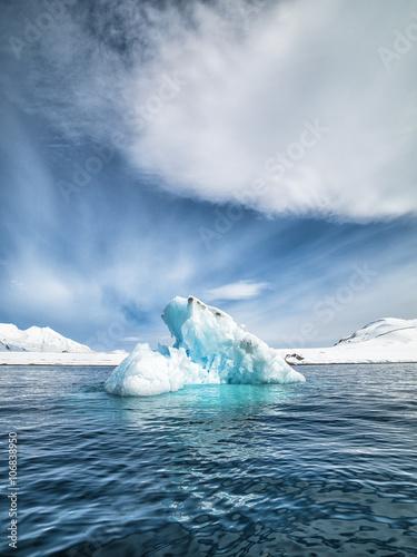 Foto op Plexiglas Antarctica 2 Antarctica Beautiful Landscape