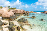 Beautiful beach - Anse Cocos - La Digue, Seychelles