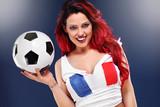France soccer fan