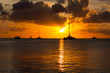 Постер, плакат: Aruba sunset