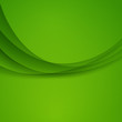 Green vector Template Abstract background with curves lines and shadow. For flyer, brochure, booklet, websites design