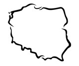 Karte Polen - 1
