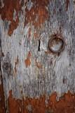 vecchia porta arruginita