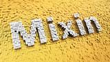 Pixelated Mixin word